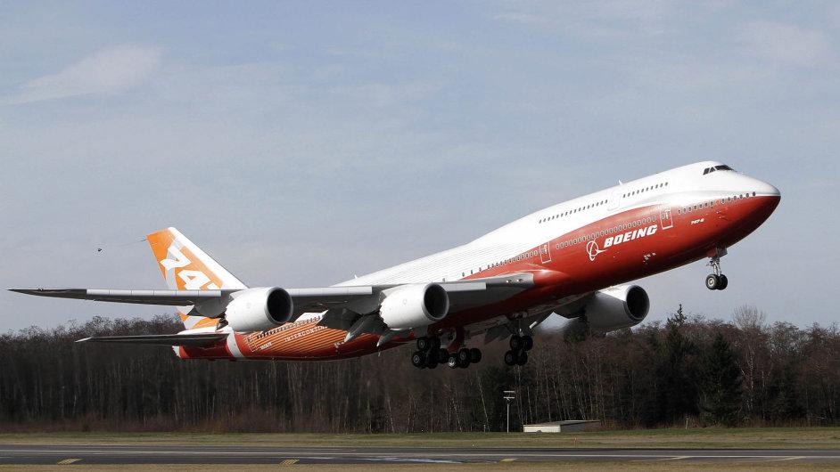 Air Force One v novém: Nejnovější verzí dvoupodlažního stroje Boeing 747 budou napříště létat američtí prezidenti.