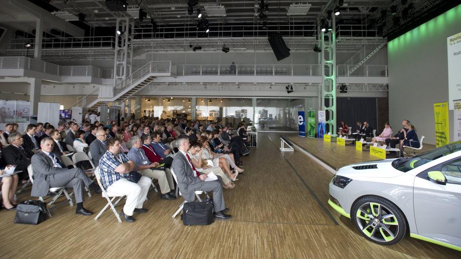 Konference pořádaná v rámci Roku průmyslu a technického vzdělávání  v Mladé Boleslavi