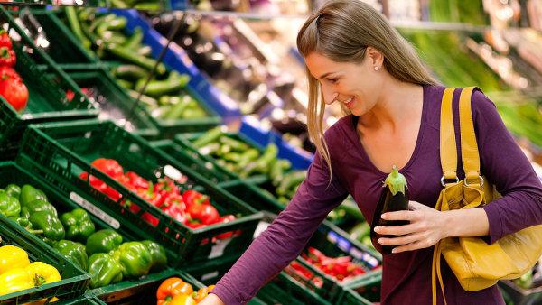 Ceny potravin v Česku klesají - Ilustrační foto.