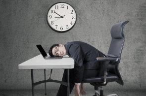 Práce přesčas - Ilustrační foto