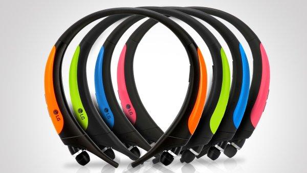 bezdrátová sluchátka LG Tone Active vydrží v provozu i devět hodin a nebojí se vody ani potu