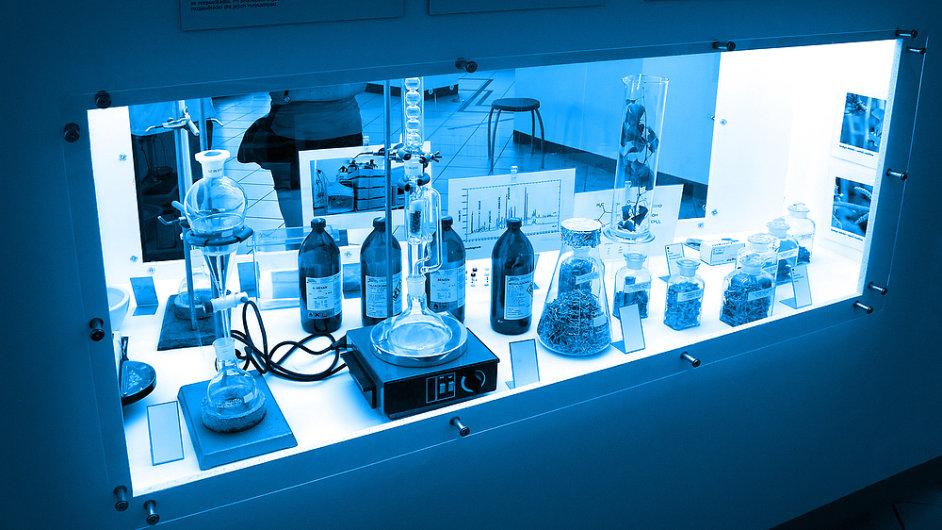 Chemická laboratoř v Brně, chemie - ilustrační foto