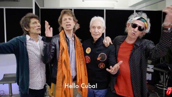 Rolling Stones v Havan� vystoup� tento p�tek.