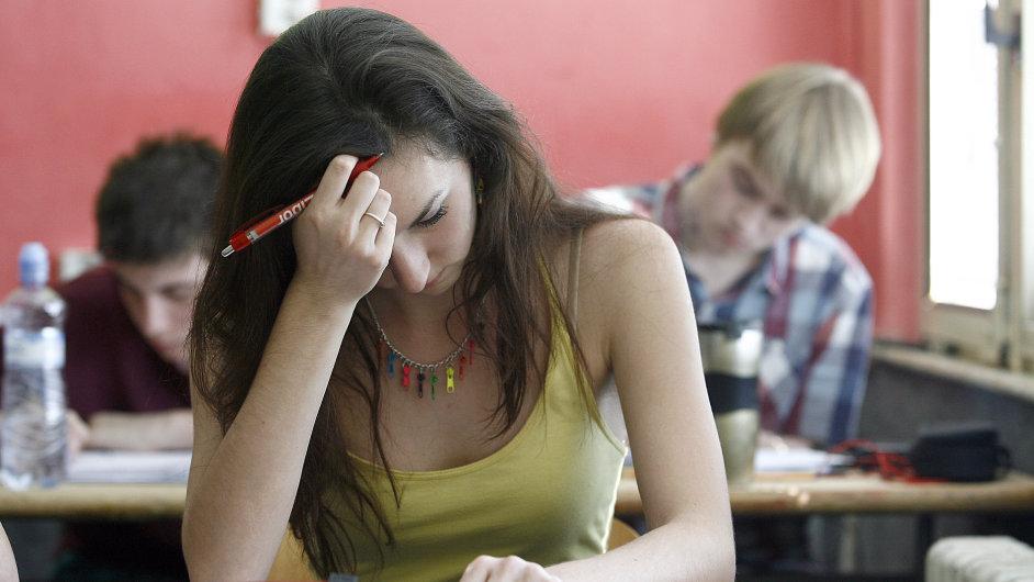 Přijímací zkoušky - Ilustrační foto.