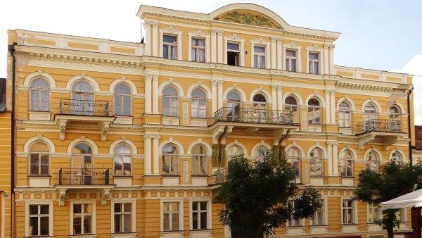 Hotel Luna ve Františkových Lázních je jedním z lázeňských domů, které byly předmětem pronájmu.