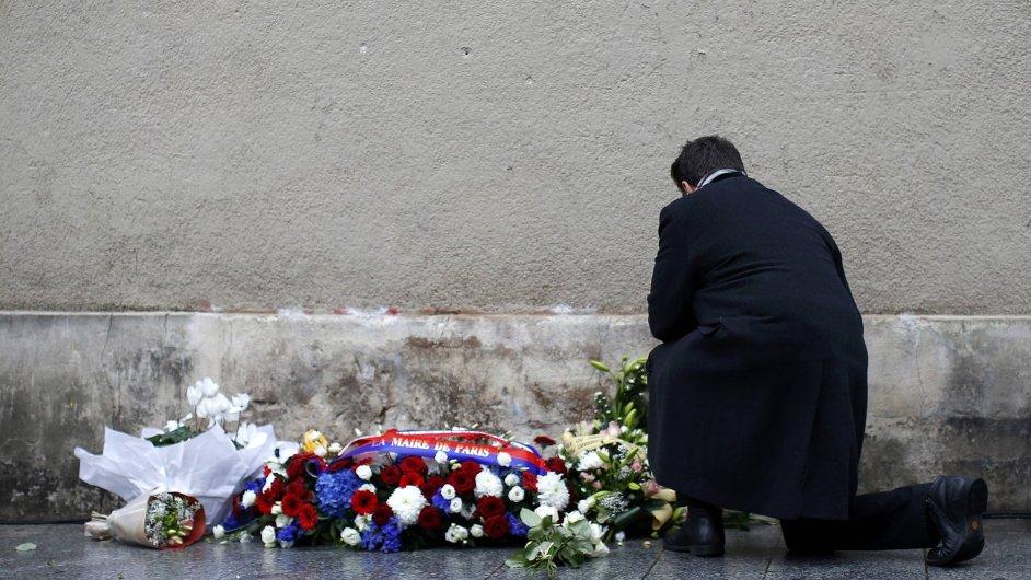 Paříž rok po teroristických útocích z 13. listopadu 2015