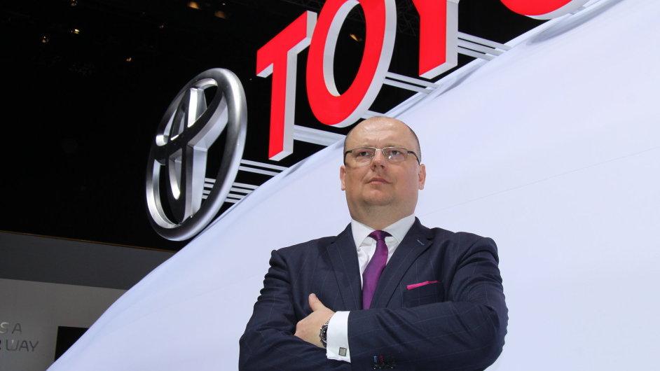 Martin Peleška, šéf české pobočky Toyoty