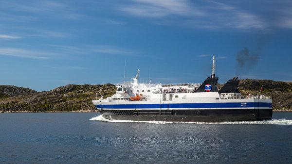 Norsko pro lodní dopravu postaví unikátní tunel - Ilustrační foto.