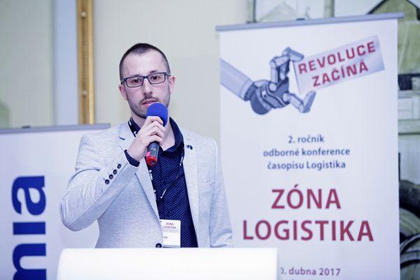 Konference Zóna Logistika, Daniel Marek, vedoucí interní dopravy, skladu a expedice v závodu WITTE Automotive
