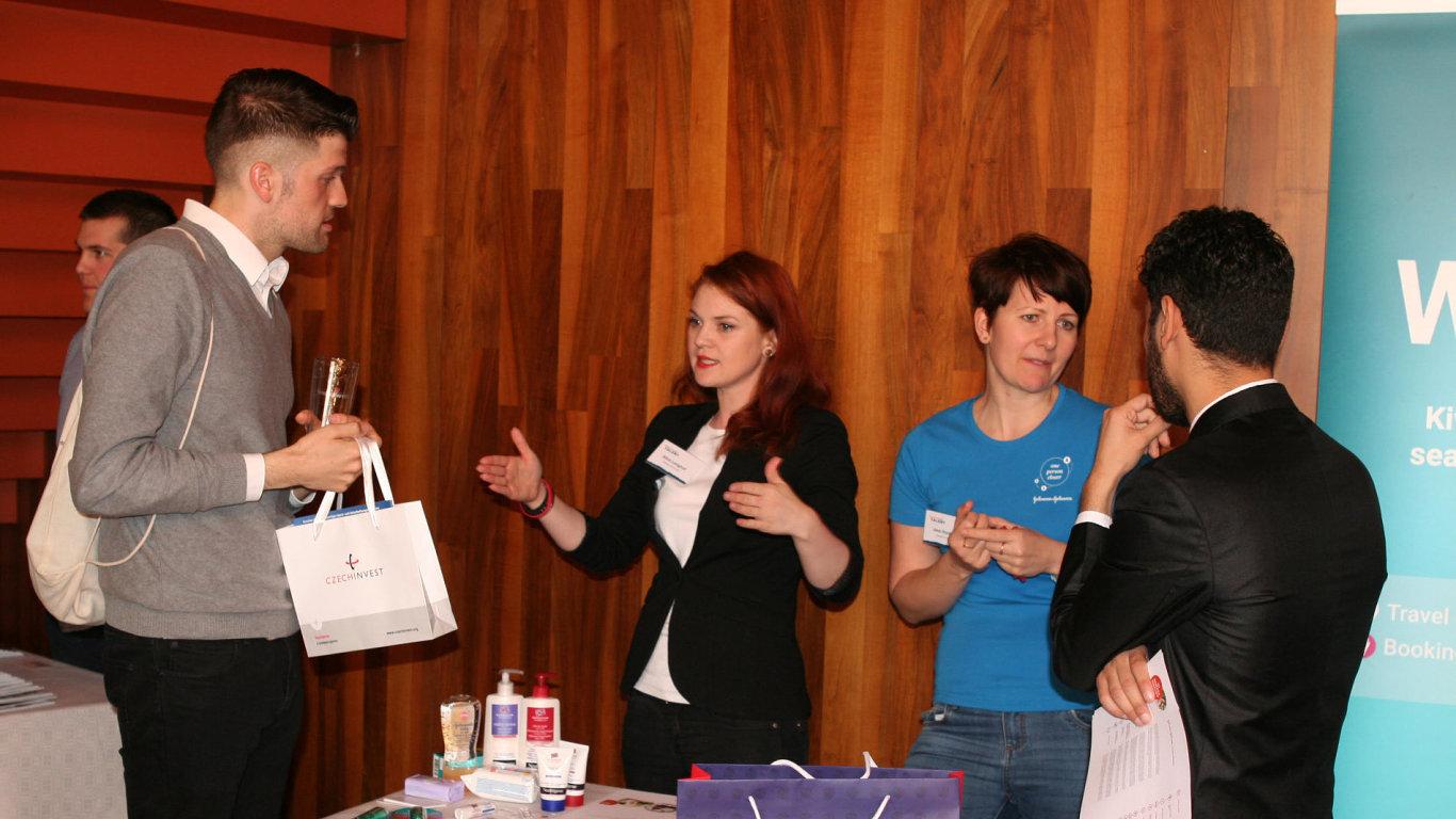 Akce Czech Your Talent v Berlíně vyvolala mezi uchazeči zájem.