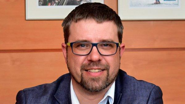 Robert Škrabánek, finanční ředitel společnosti Hamé