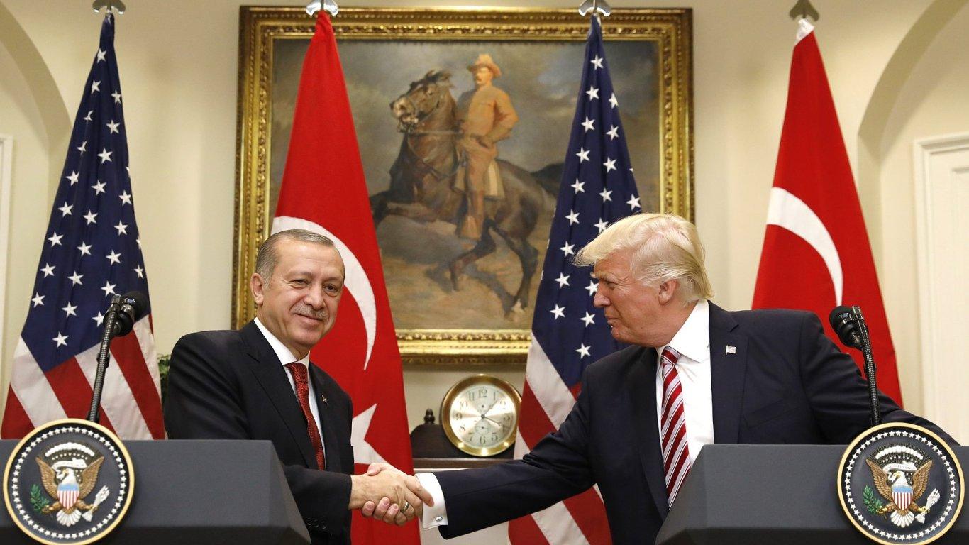 Trump Erdogan