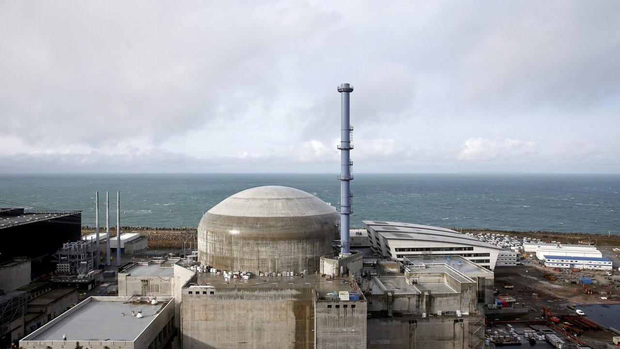 Jaderná elektrárna, ve FLAMANVILLE, Francie