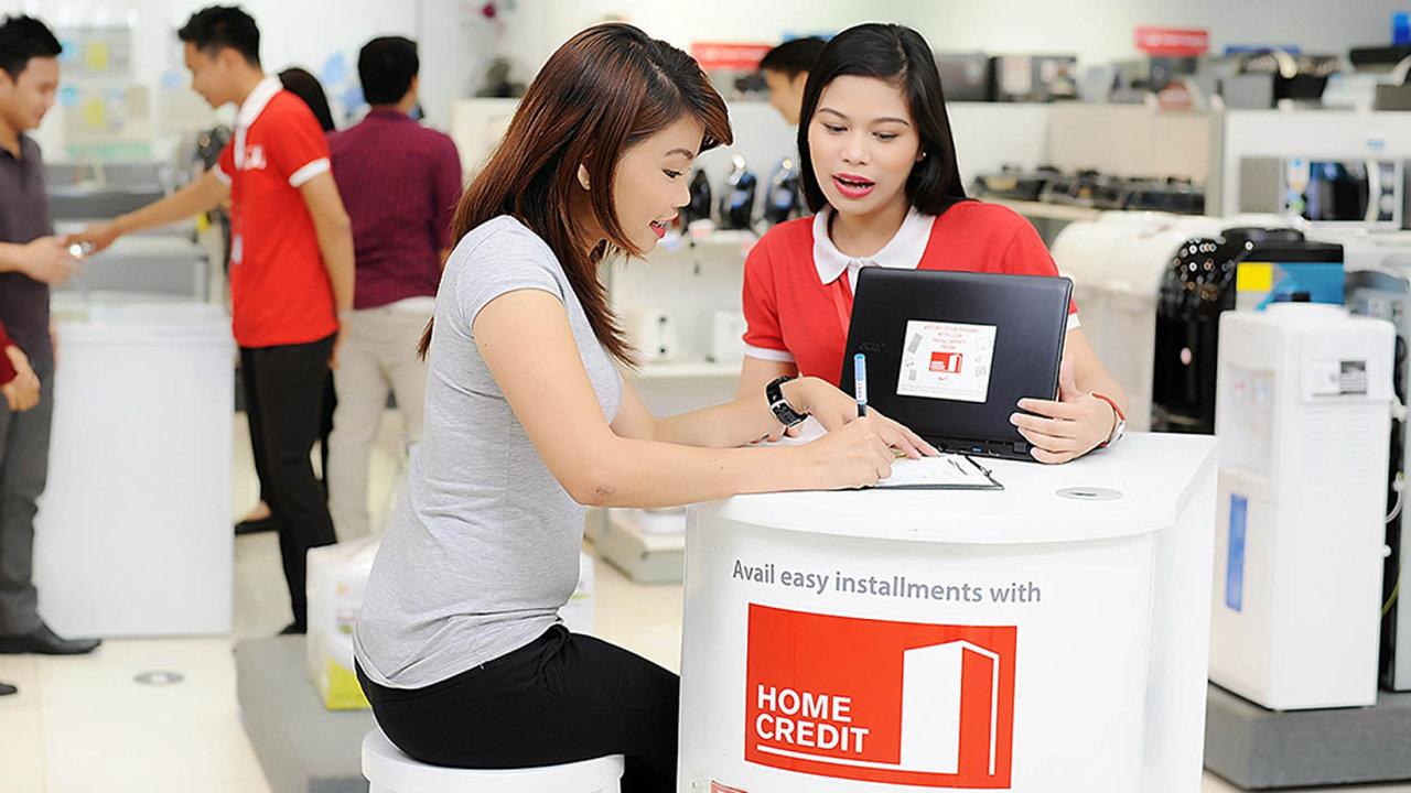 Čínský trh je dnes pro firmu Home Credit zdaleka nejdůležitejší.