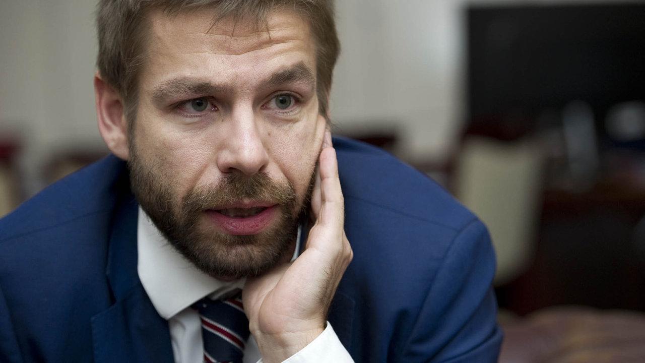 Ministr spravedlnosti Robert Pelikán.