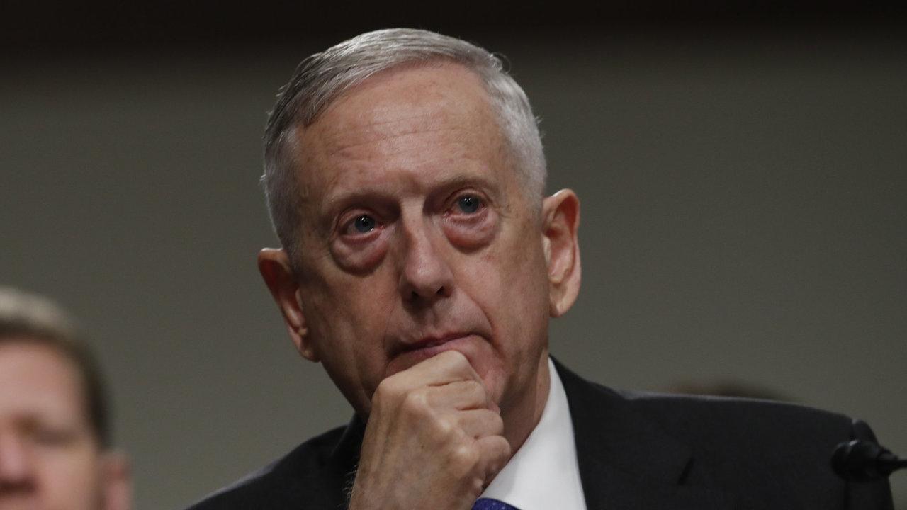 Americký ministr obrany James Mattis