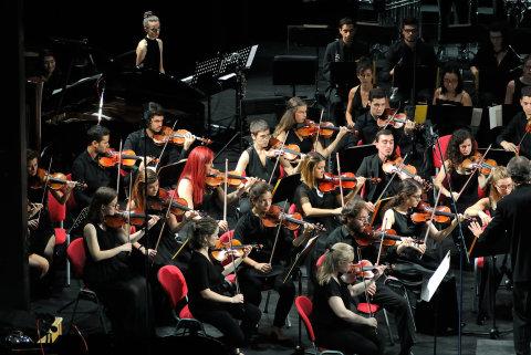 Snímek ze středečního koncertu Radikální minulost.