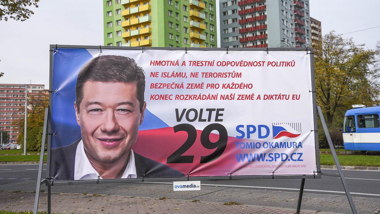 SPD má v programu boj proti lichvě, ačkoliv její pardubická jednička Jiří Kohoutek spoluvlastní společnost, která poskytovala rychlé půjčky.