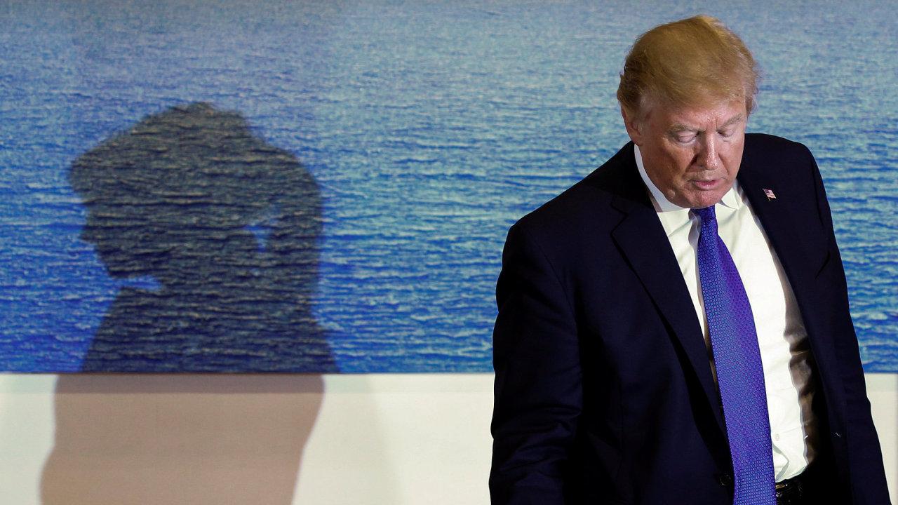 Trump na návštěvě v Jižní Koreji