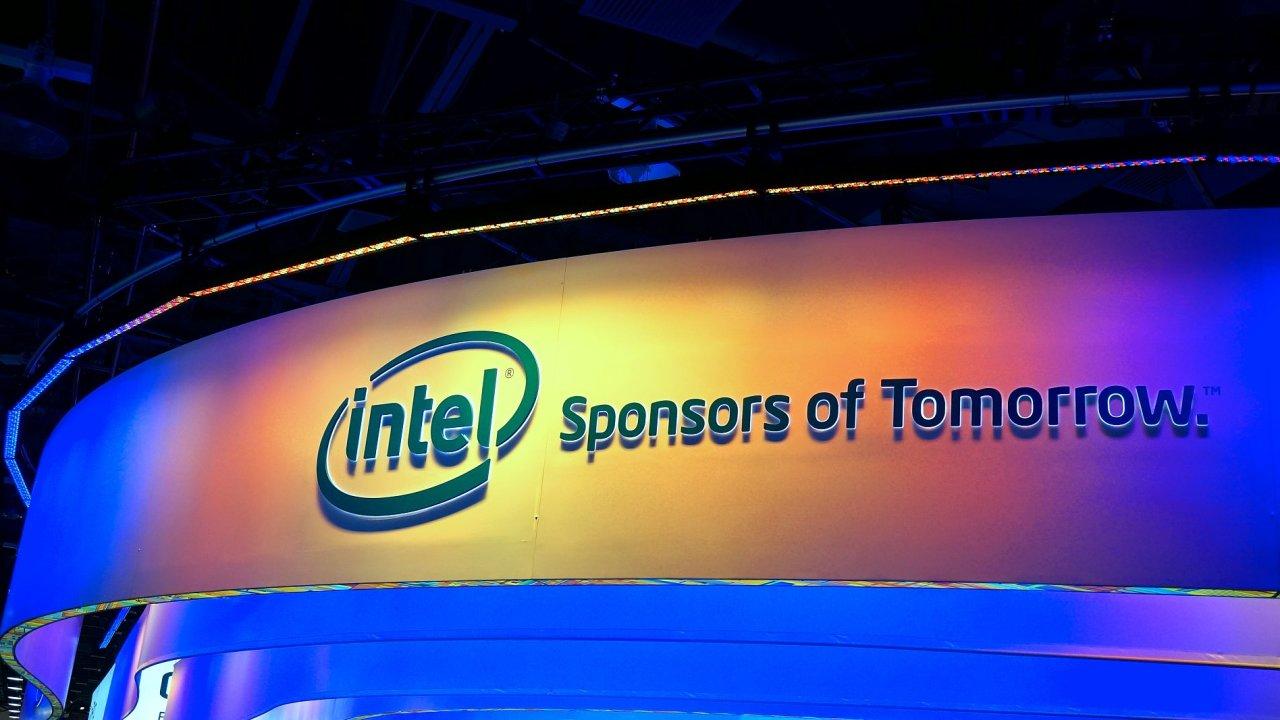 Logo společnosti Intel