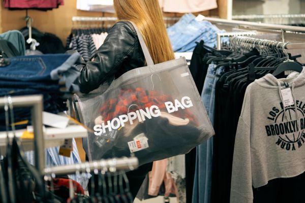 Nakupování, ilustrace