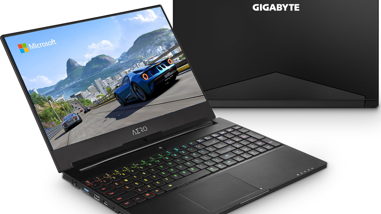 Jeden z prvních notebooků s novými čipy od Intelu ukázal Gigabyte