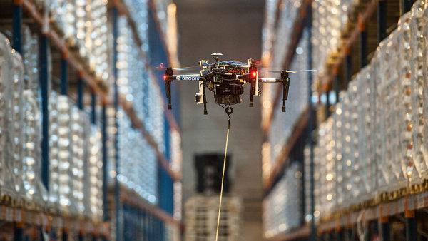 Geodis letos spustí inventury pomocí dronu