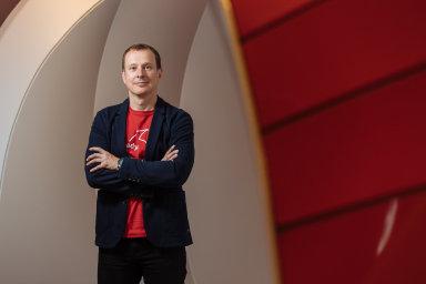 Generální ředitel Vodafonu ČR Petr Dvořák.