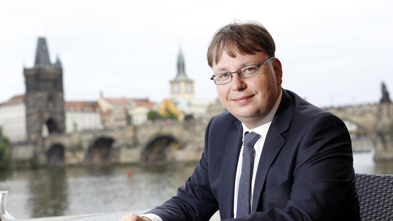 Martin Novák - finanční ředitel ČEZ