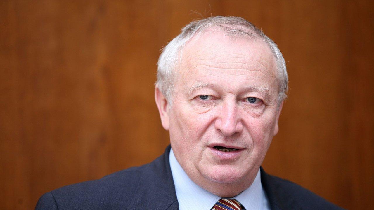 Bývalý ministr financí Eduard Janota