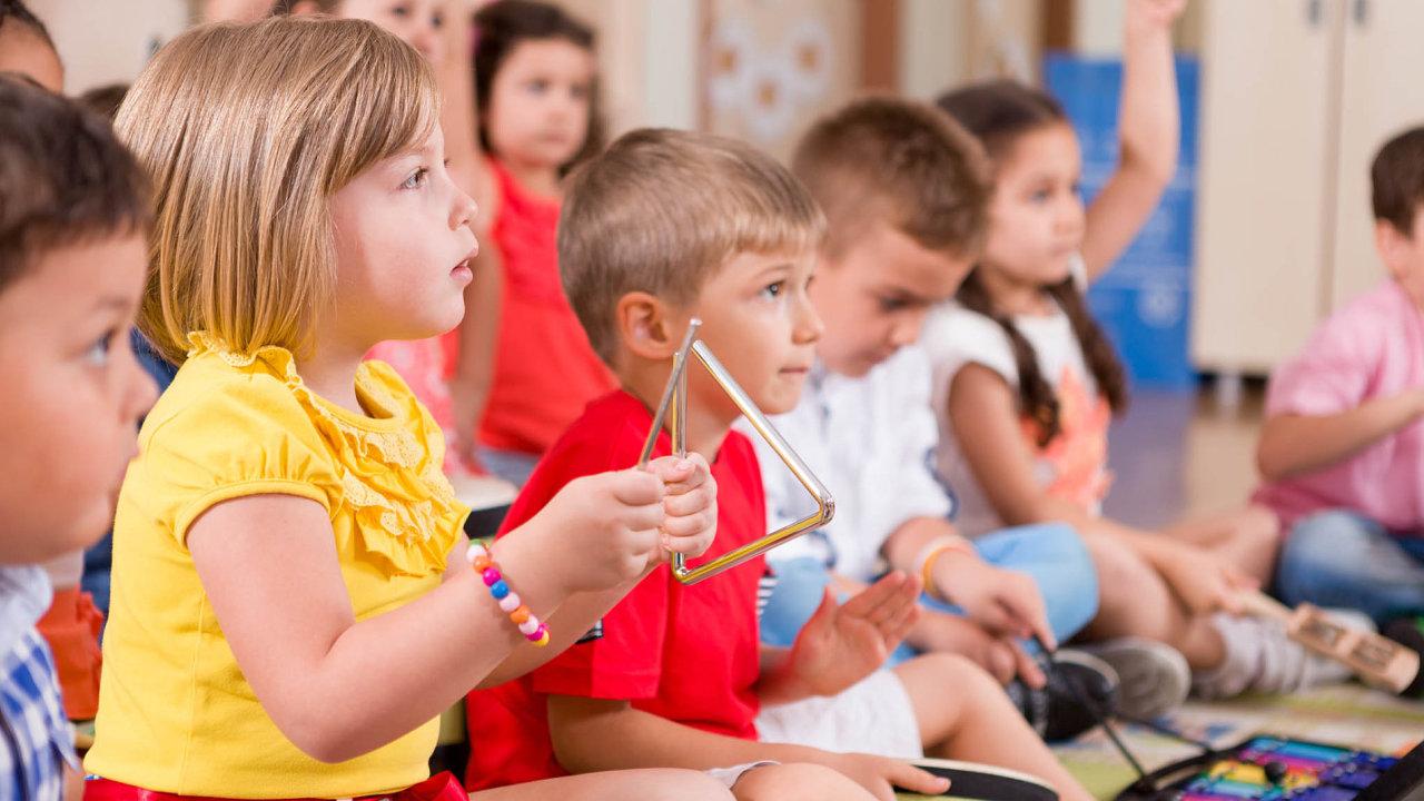 Děti, školka, mateřská škola, dětská skupina, ilustrační foto