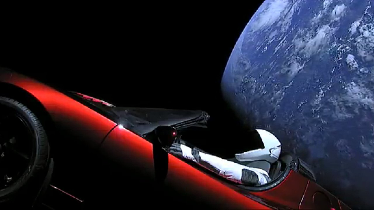 Roadster Tesla Starman