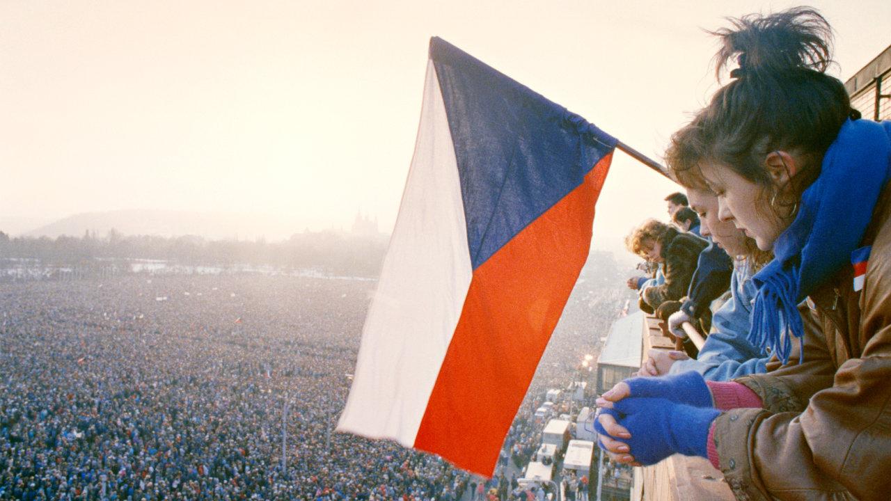 Demonstrace na Letné, 25.-26. 11. 1989