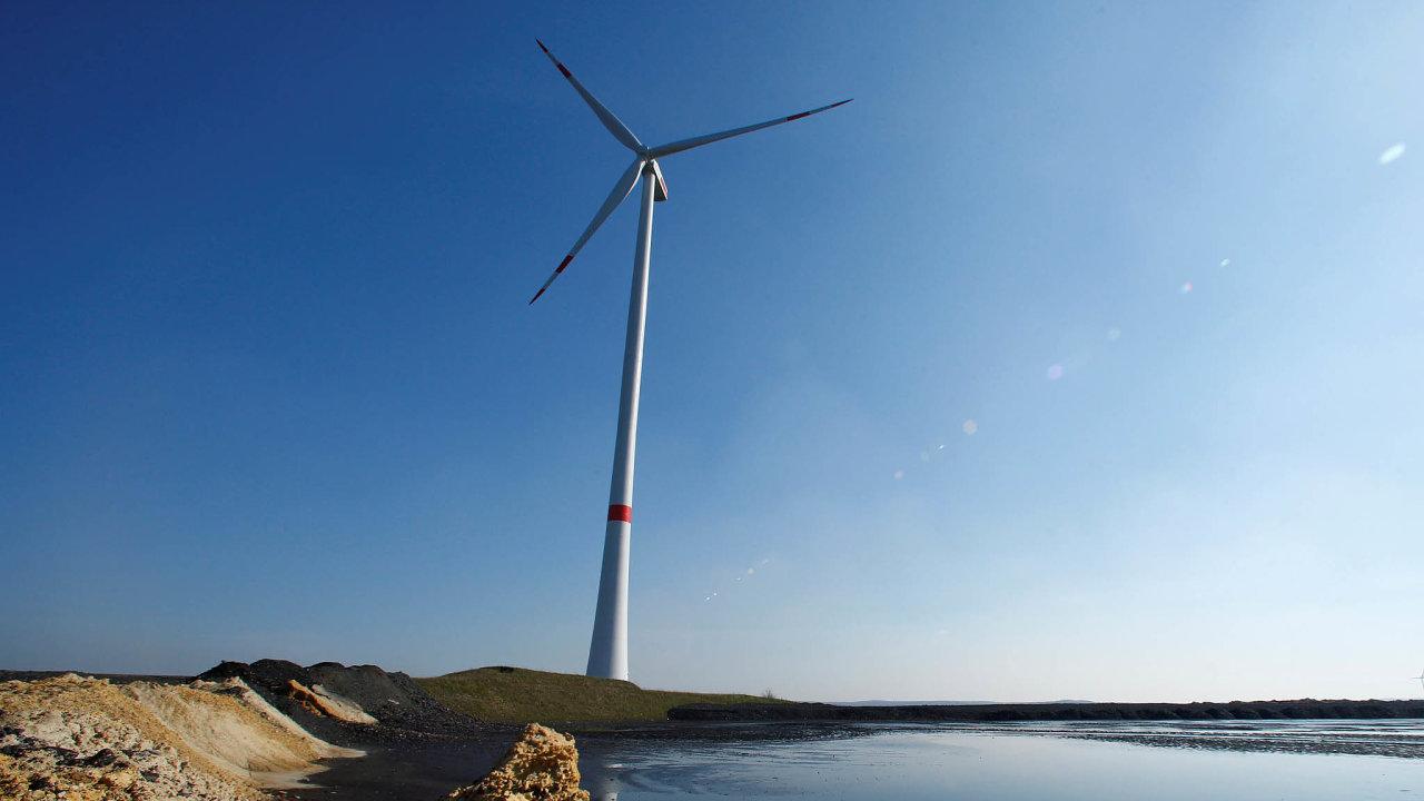 Německo vede. Německá energetika hojně využívá větrníků a podle odhadů bude lídrem Evropy v obnovitelných zdrojích i v roce 2050.