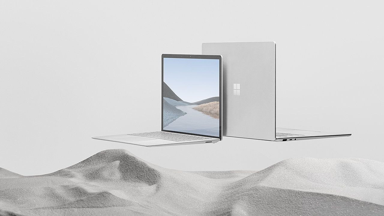 Notebook Surface laptop 3 se dočkal 15