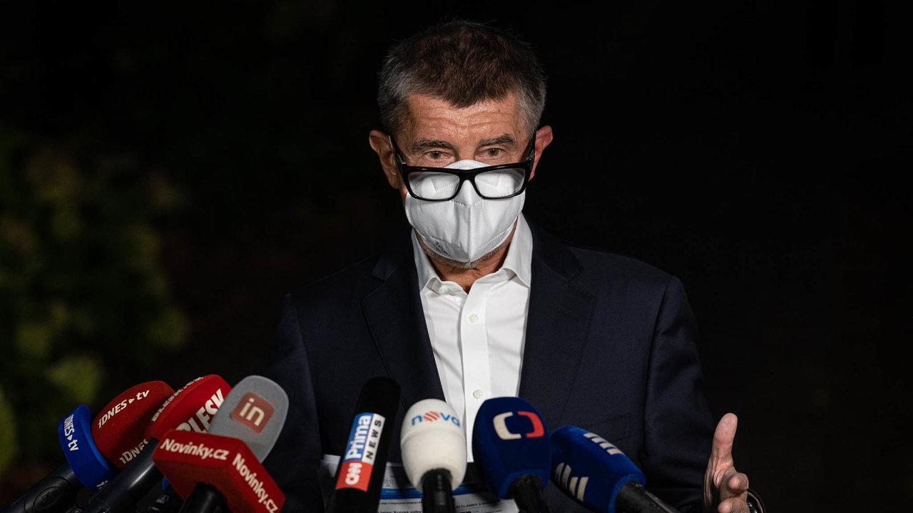 Šéf hnutí ANO a premiér Andrej Babiš.
