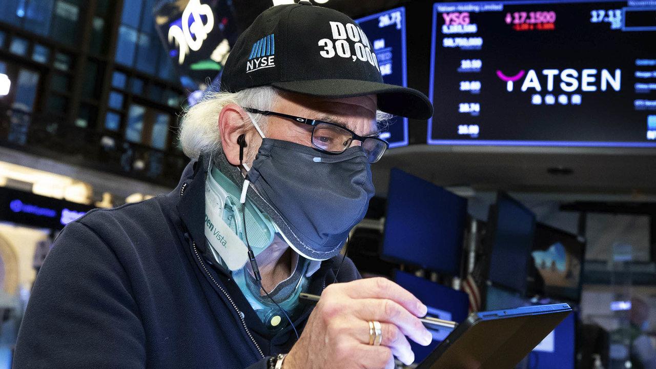 Zprávy ovakcínách podpořily zájem investorů onákup akcií.