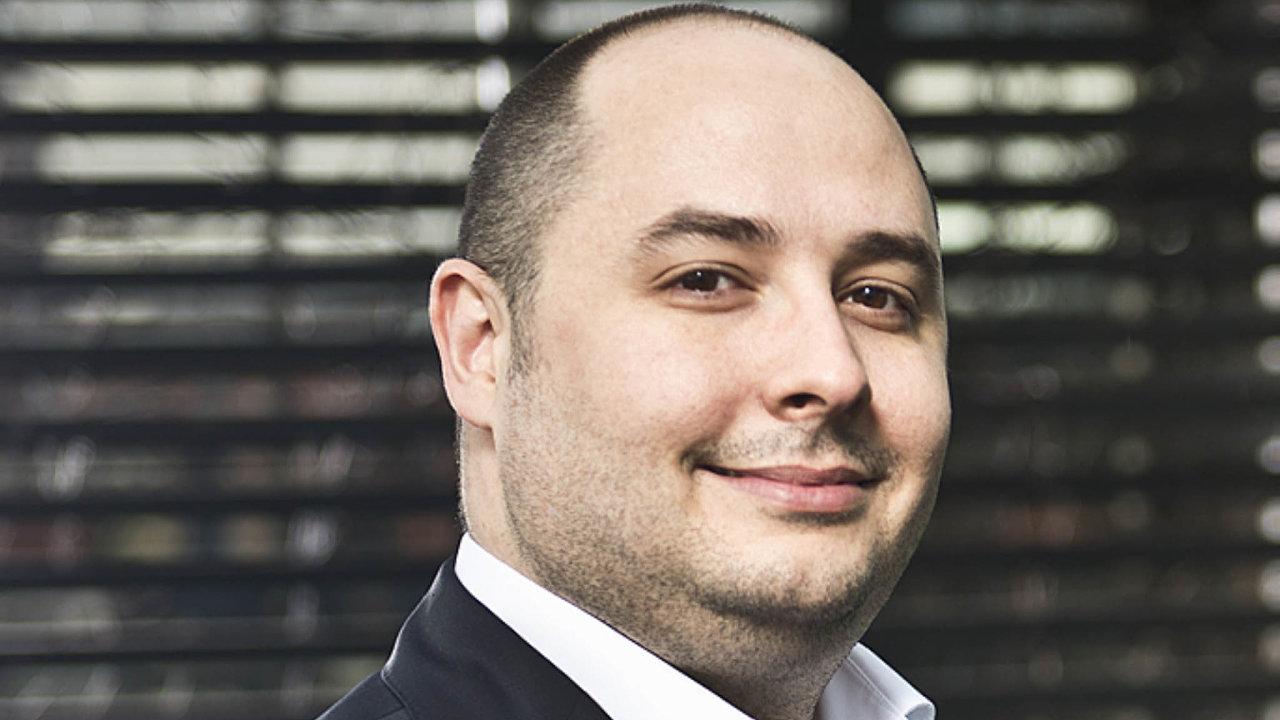 Erik Brinkáč, ředitel vývoje, Global Payments