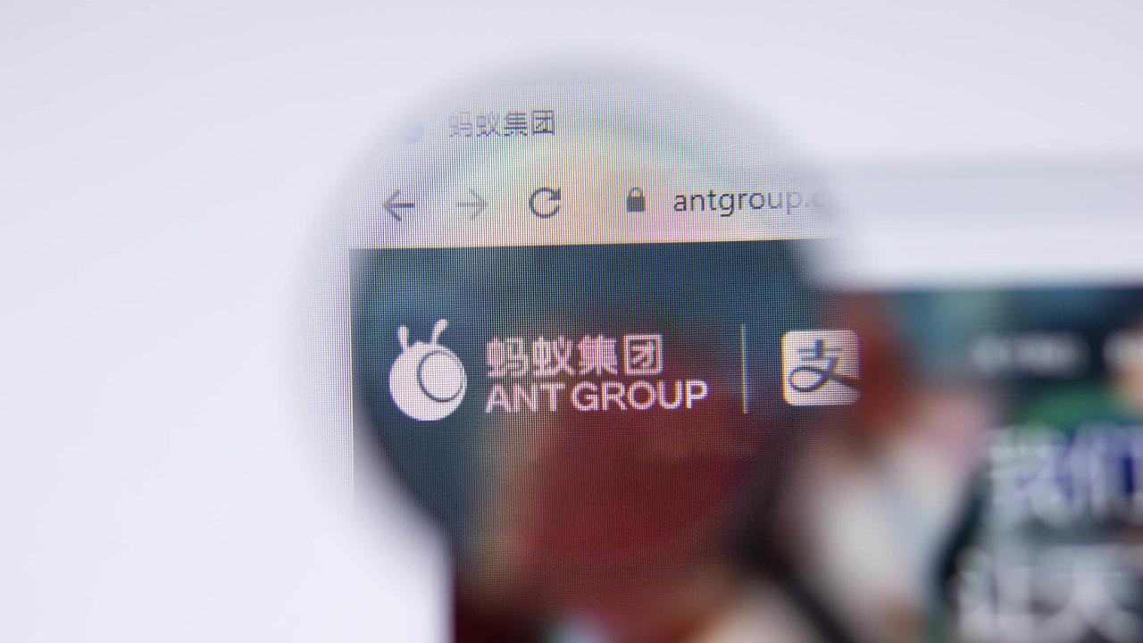 Ant Group měla jen zaprvní polovinu minulého roku čistý zisk tři miliardy dolarů (65 miliard korun).