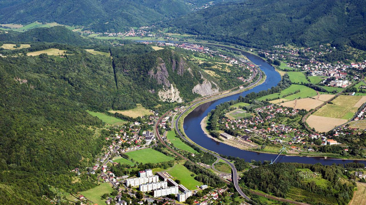 Vodní cesty, řeka Labe