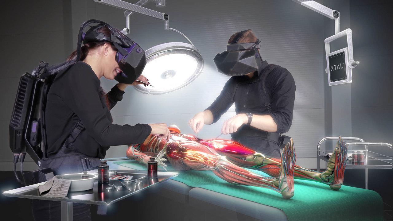Headset pro virtuální realitu odstart-upu VRgeneers získal icenu zadesign Red Dot.