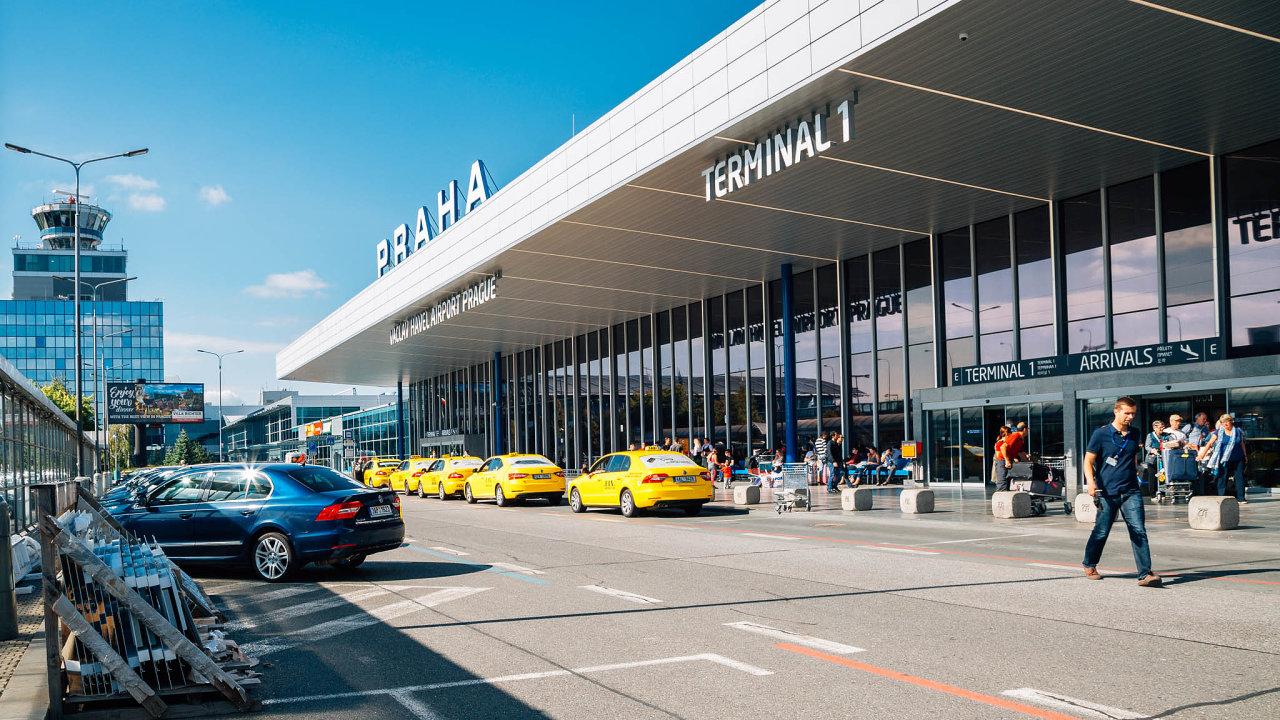 taxi, letiště