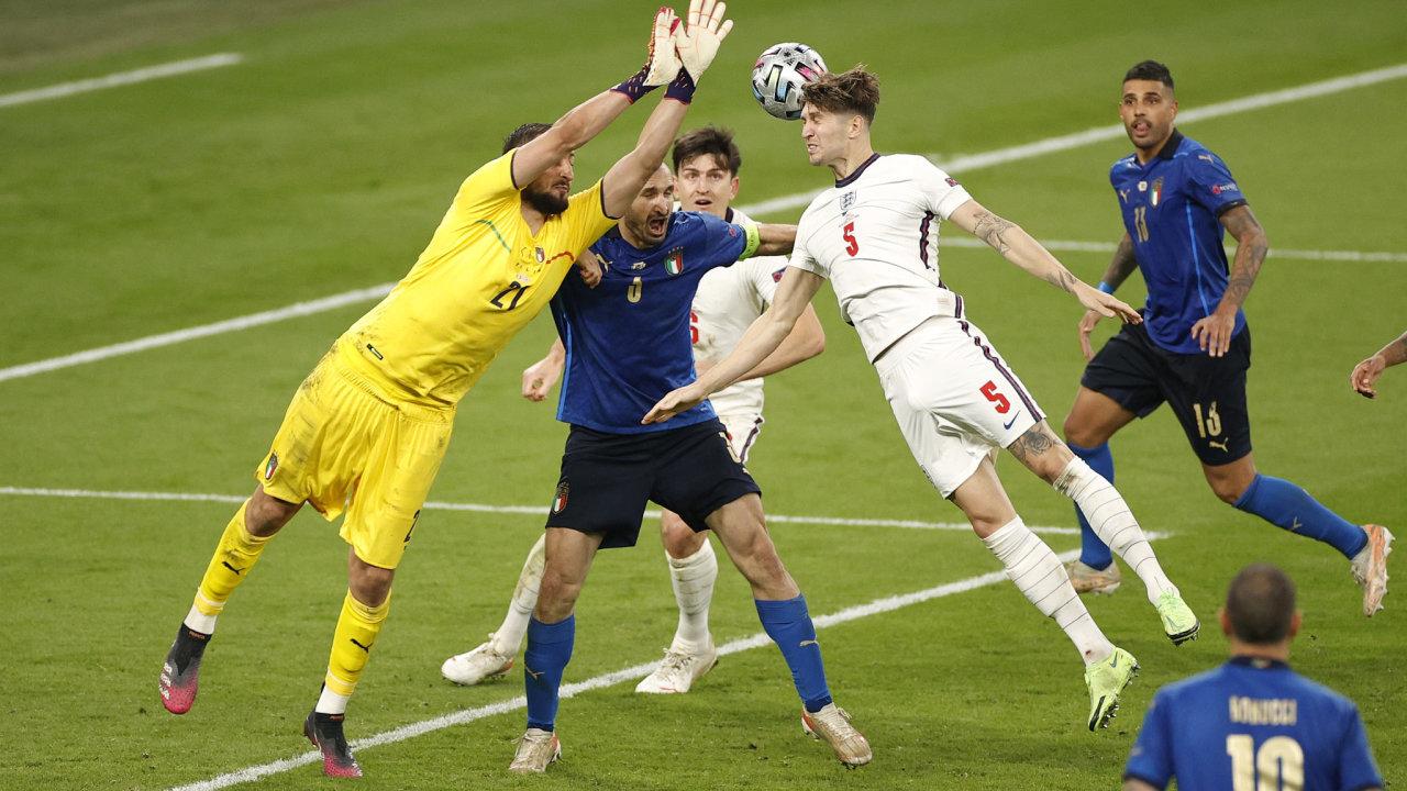 fotbal Anglie Itálie
