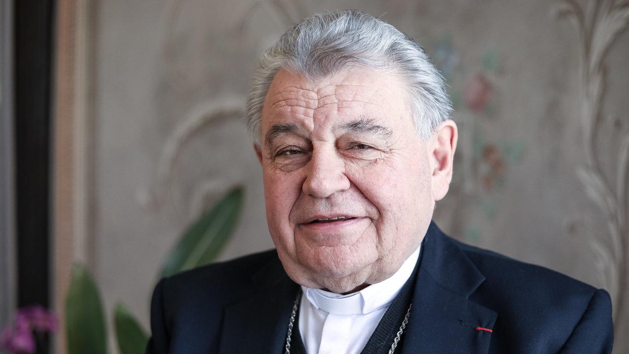 Pražský arcibiskup Dominik Duka