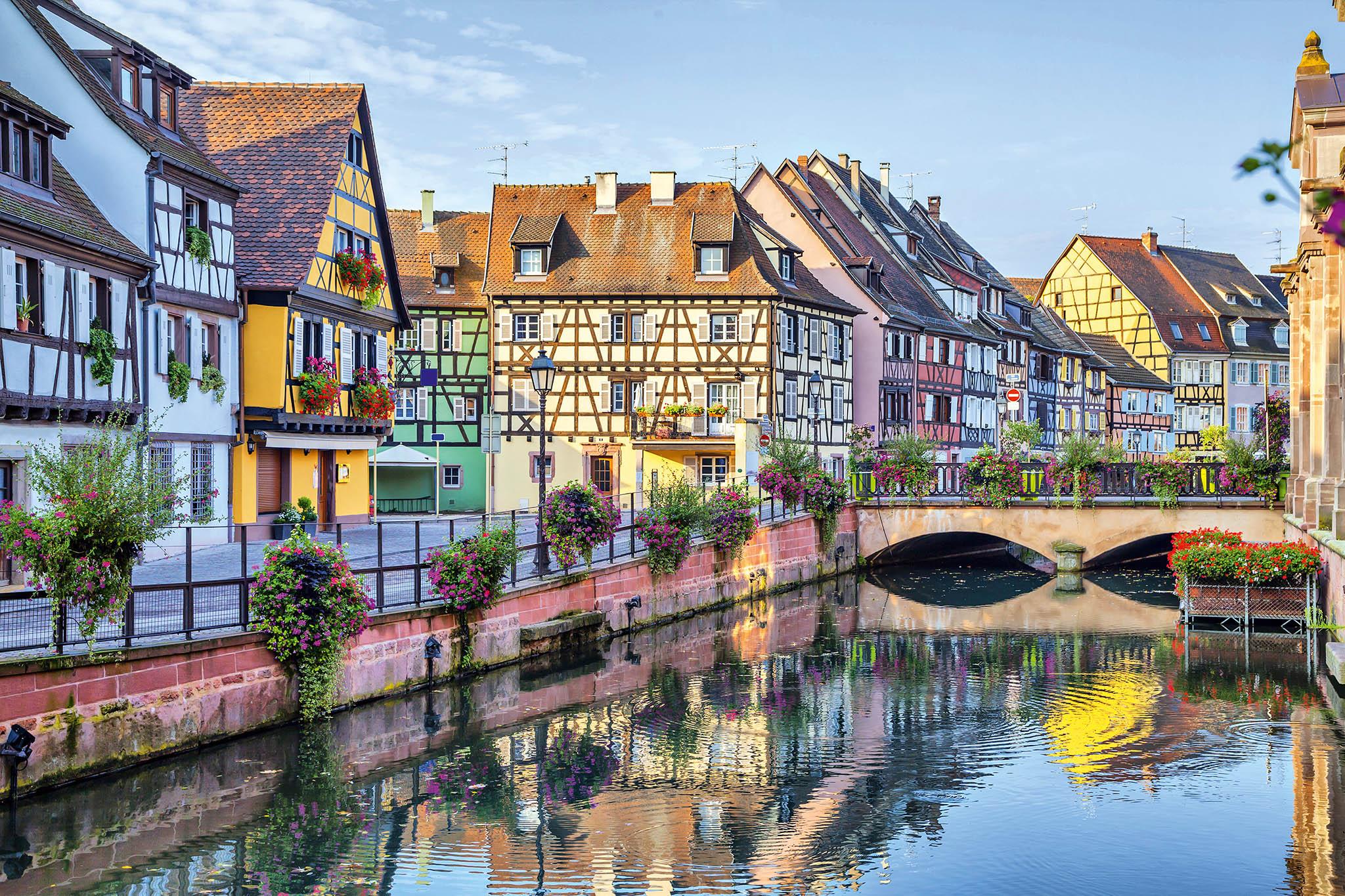 Route des vins d'Alsace, Francie