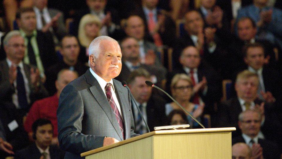 Prezident Klaus, veletrh Brno