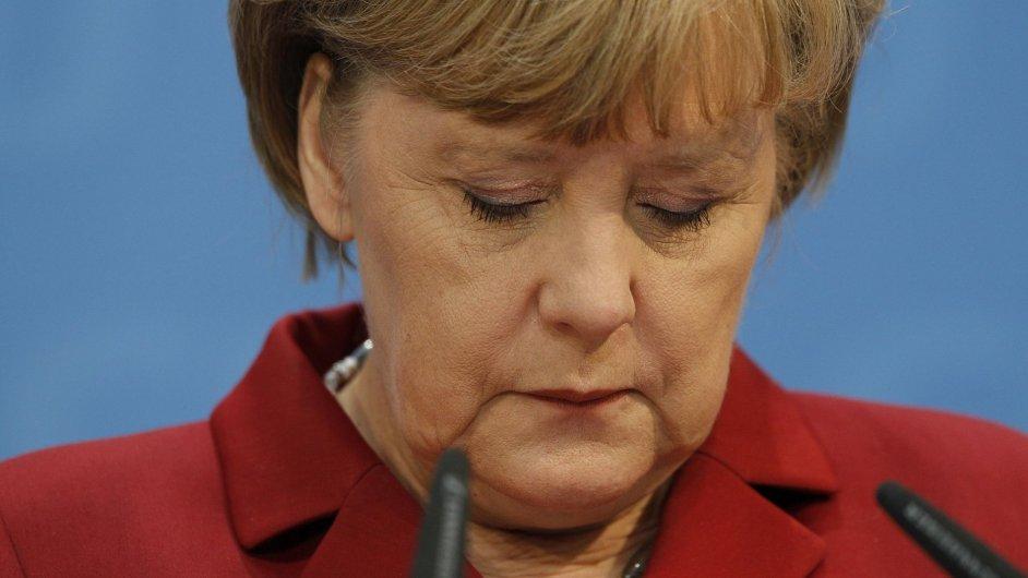 Angela Merkelová, německá kancléřka