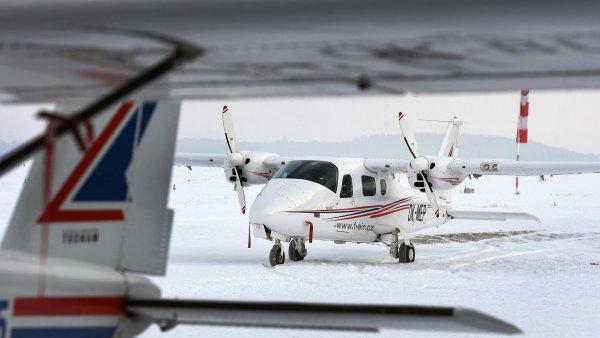 Letiště Benešov, letouny společnosti F Air