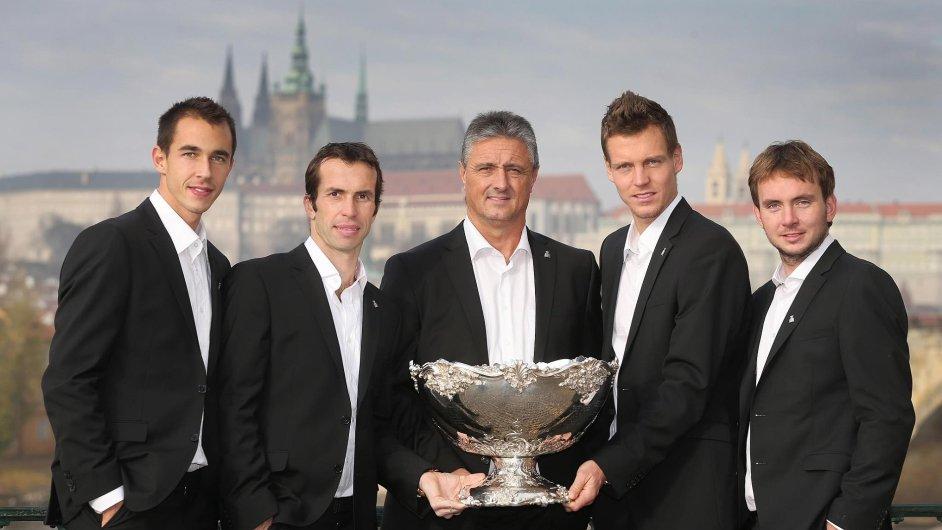 Vítězný český Daviscupový tým z roku 2012