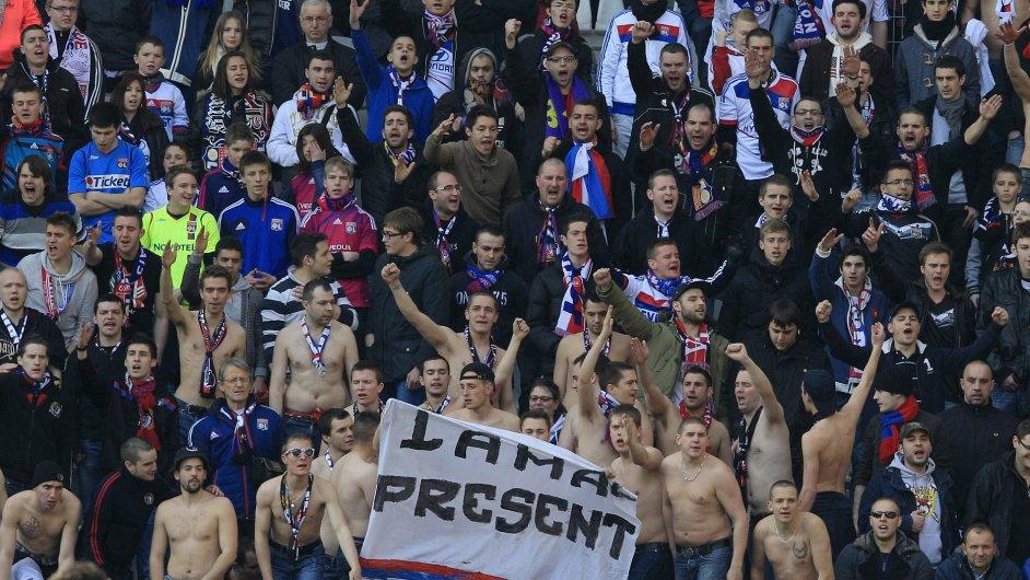 Fanoušci Lyonu
